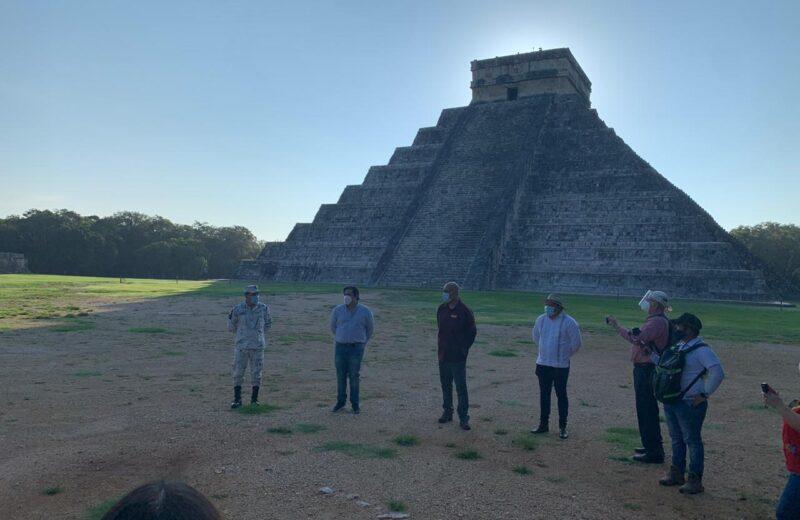 Chichén Itzá, la ciudad de los brujos del agua, reabrió sus puertas al turismo
