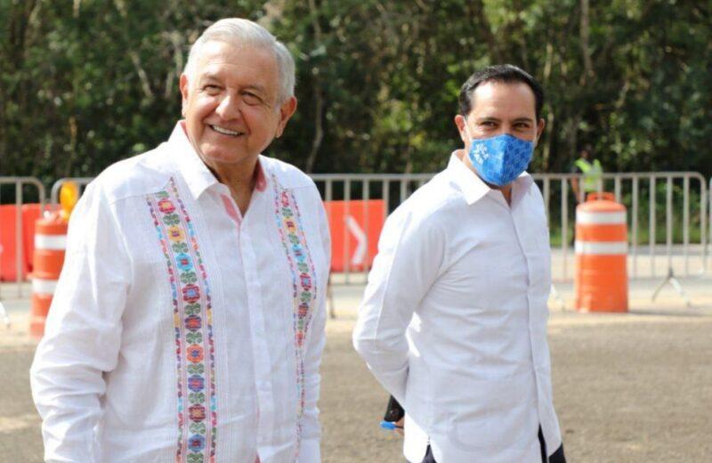 AMLO vuelve a Yucatán a supervisar Tren Maya en medio de amparos