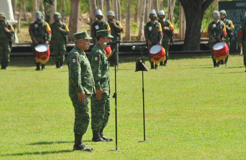 Toma posesión Homero Mendoza, nuevo Comandante de la X Región Militar