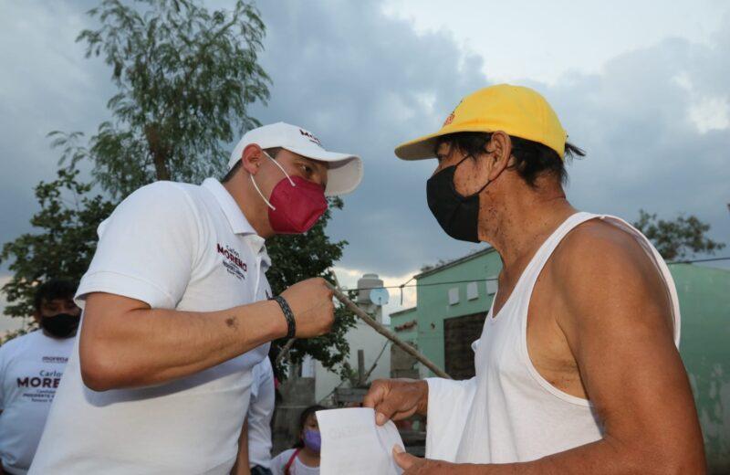 Kanasín será un lugar seguro: Carlos Moreno