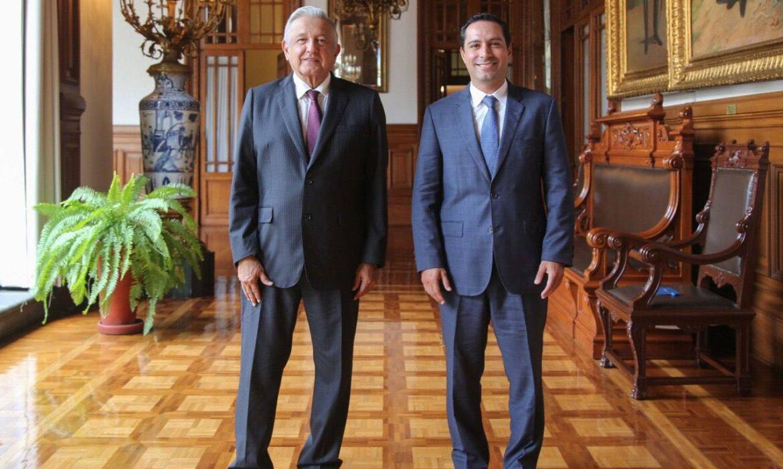 Vila Dosal se reúne con López Obrador. Habría un nuevo hospital en la Entidad