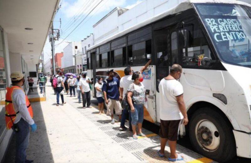 Suspenden servicio de transporte urbano por huracán Grace