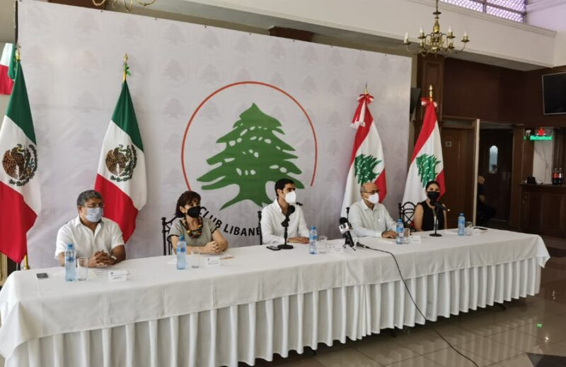 Jornada Cultural Libanesa por bicentenario de consumación de Independencia de México