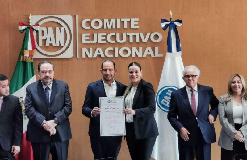 Cecilia Patrón toma posesión como Secretaria General del CEN del PAN