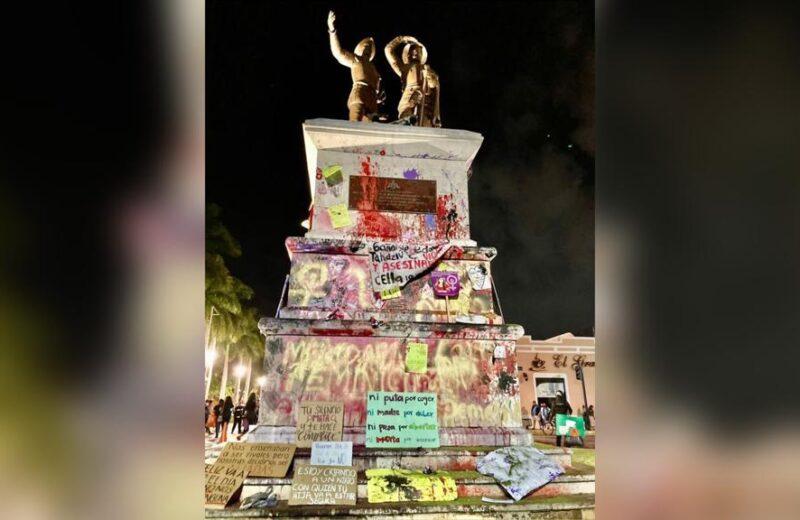 Monumento a los Montejo: aferrarse a la hispanidad