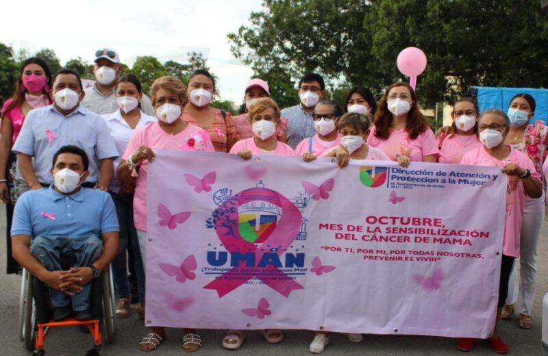 Umán intensifica acciones contra cáncer de mama