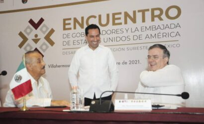 Detonemos juntos a México y al Sureste: Vila Dosal